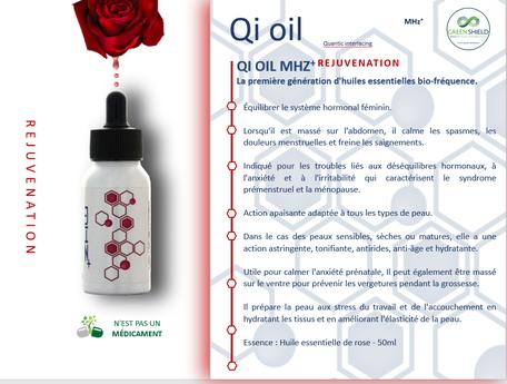 Huile Bio-Fréquence QI Oil Rejuvenation