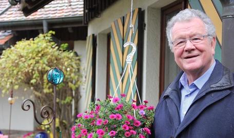 Franz Schuhmacher freut sich über weitere Spenden / Foto: Regina Braungart