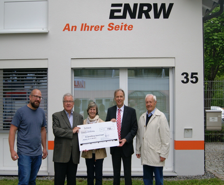 Foto von links: Jens Blache, Franz Schuhmacher, Regina Wenzler, Christoph Ranzinger und Thomas Kästle.