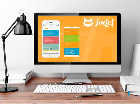 Jodel, die hyperlokale Plattform