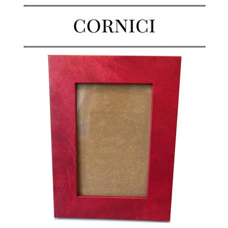 cornici pelle, pergamena, carta marmorizzata