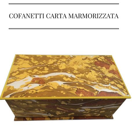 cofanetti carta marmorizzata