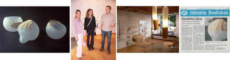 Frankf Meurer Studioglas in der CCAA GLASGALERIE KÖLN