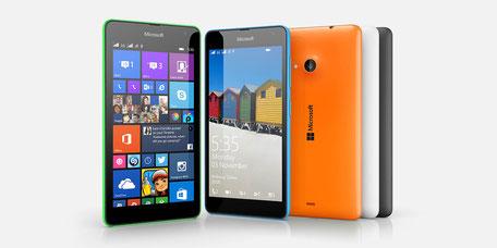Microsoft Lumia 535 disponible ici.