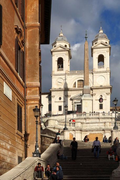 Rom - Scalinata di Trinita dei Monti