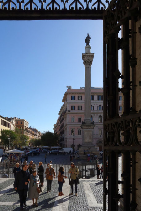 Rom - Piazza Santa Maria Maggiore