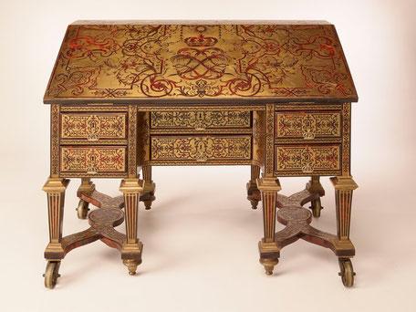 bureau, louis XIV, versailles, château, alexandre-jean oppenordt