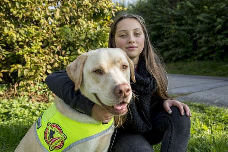 Diabetikerwarnhund, Signalhund, Kinder mit Hund, Hunde in der Familie