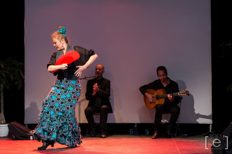 Prestation danseuse flamenco