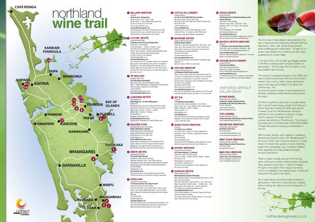 Wine Trail Northland New Zealand