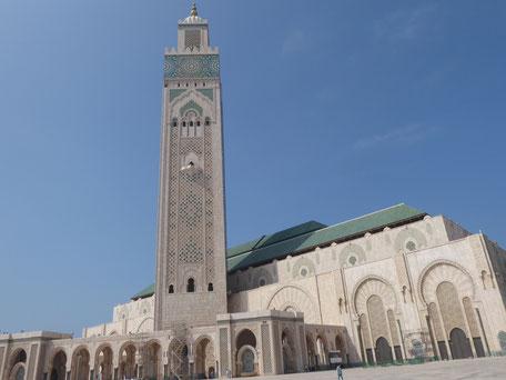 Hassan II. Moschee: Marmorner Größenwahnsinn