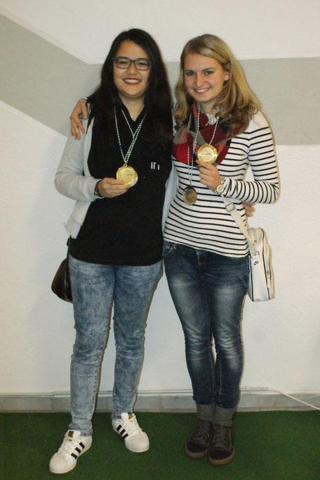 v.l.: Lisa Köth, Alexandra Dennert