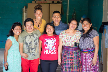 Teachers of Centro Maya Servicio Integral, Guatemala 2018