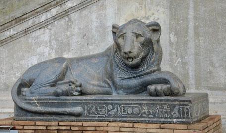 Lion dit de Nactenabo II (Museo Gregoriano Egizio, Le Vatican)