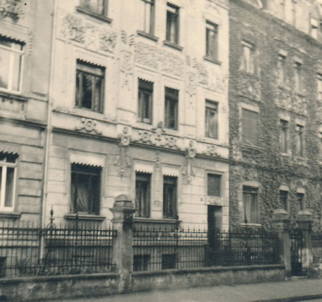 Haus in der Nachbarschaft - Südstr. 75 um 1935, damals Albert-Leo-Schlageter-Straße