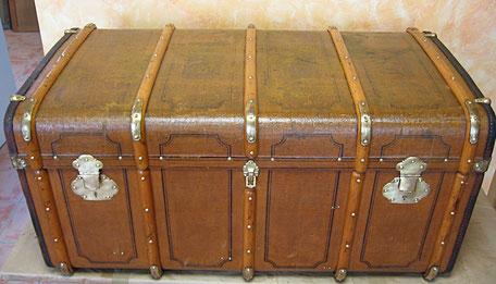 Restauración de baúl de viaje Friedrich Mink