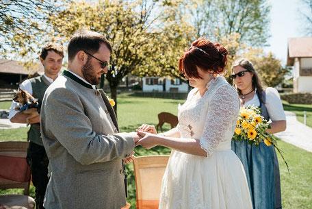 Ringwechsel Freie Hochzeitszeremonie