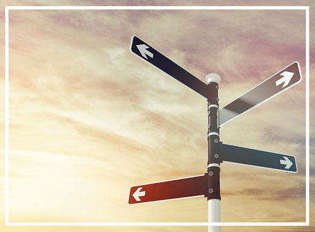 Wegweiser auf dem Lebensweg und Berufsweg