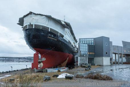 Hurtigrutenmuseum,Stokmarknes,Finnmarken,Vesterålen,Hurtigruten,Panorama,Norwegen,ms,Midnatsol, Postschiff,Winter,November,Tipps