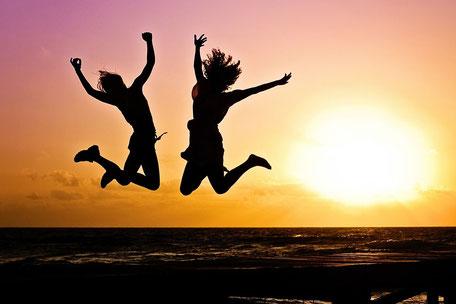 Einfach leben und glücklich sein