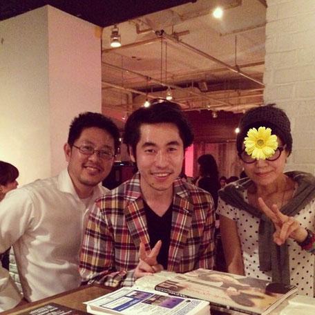 沖仁さんと一緒に撮って頂きました。気さくな方でした☺︎