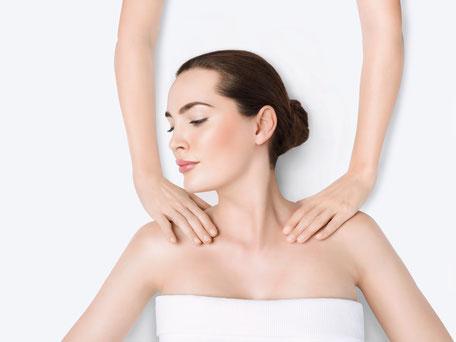 Behandlung Massage
