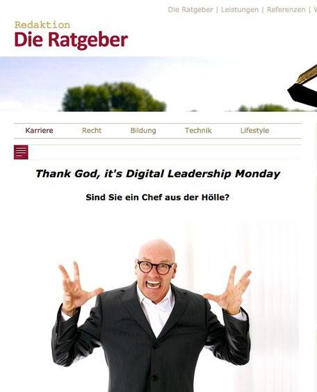 """Screenshot """"Redaktion - Die Ratgeber"""""""