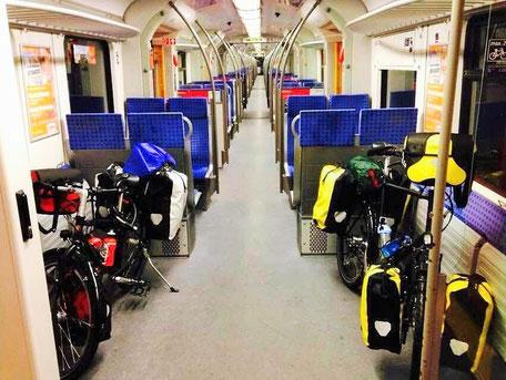 mit der S-Bahn von Mammendorf nach München