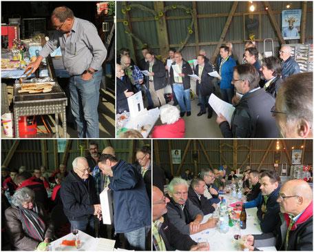 Karl Schmid's Geburtstagsfeier auf dem Erlenhof