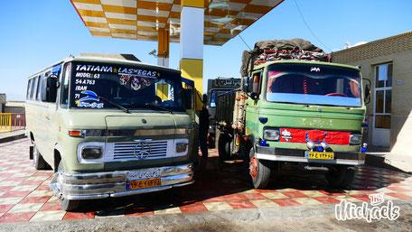 The Michaels, Verkehrsmittel im Iran, Diesel im Iran