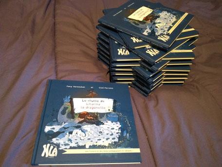 La 1ère réception de l'album jeunesse Le rhume de Liharina la dragonette paru chez NLA Créations Editions pour la rentrée littéraire