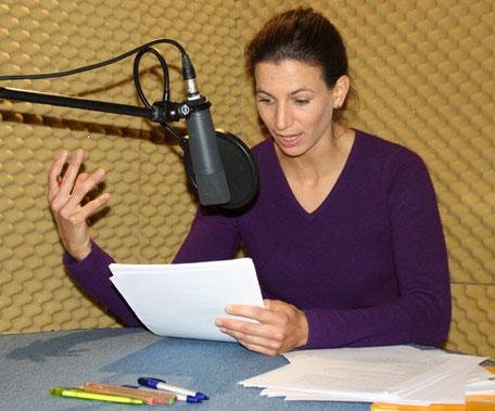 Simone Dorenburg, Sprecherin und Sprechtrainerin