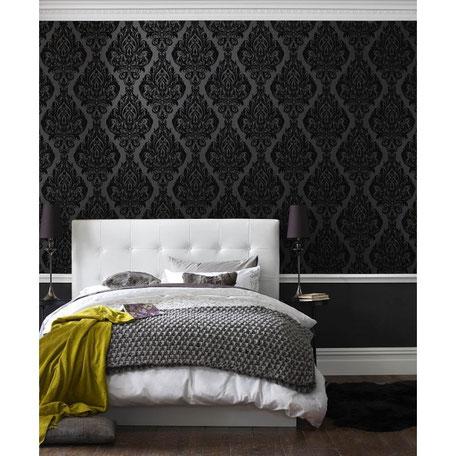Black attitude ... Osez la peinture noir sur vos murs ...