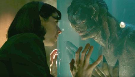 """Oscar-Gewinner """"Shape of Water – Das Flüstern des Wassers"""" zog insbesondere Singles in die Kinos."""