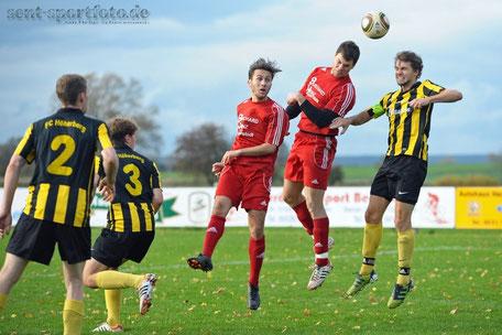 SG Obernfeld (rot) vs FC Höherberg