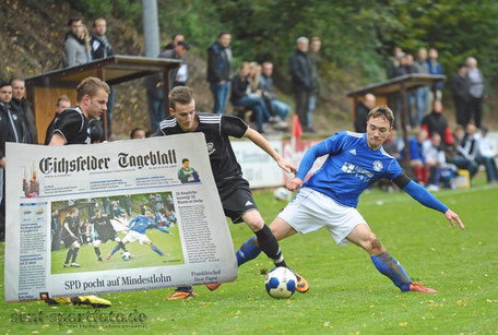 SG Bergdörfer (blau) vs SG Rhume