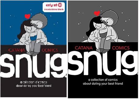 Catana: Snug, links die Target-Ausgabe, rechts die normale