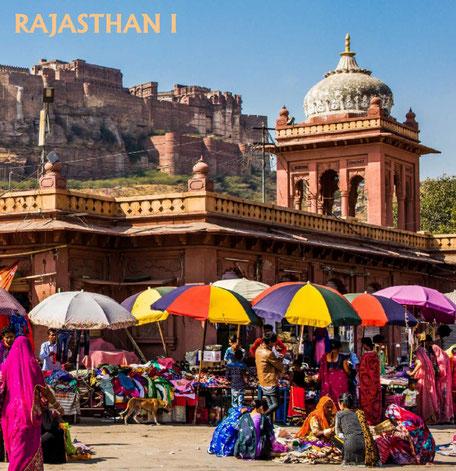 Bildband, Reisebildband, Rajasthan, Indien, Seidenstrasse, Agra, Fatehpur Sikri, Delhi, Jaipur, Amber, Bikaner, Jaisalmer, Wueste Thar, Jodpur, Ranakpur, Udaipur, Tigerreservat, Ranthambore, Taj Mahal, Holi Fest, indische Hochzeit, Unesco Welterbe