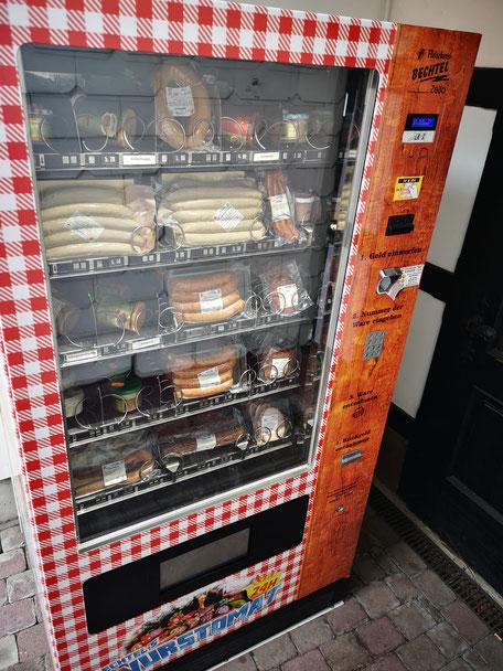 Fleischerei Bechtel - Wurstautomat - 24h Grillfleisch kaufen