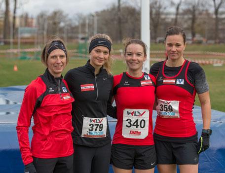 Elisabeth Pöltner-Holkovic, Lemi Wutz, Tanja Bauer und Tanja Stroschneider