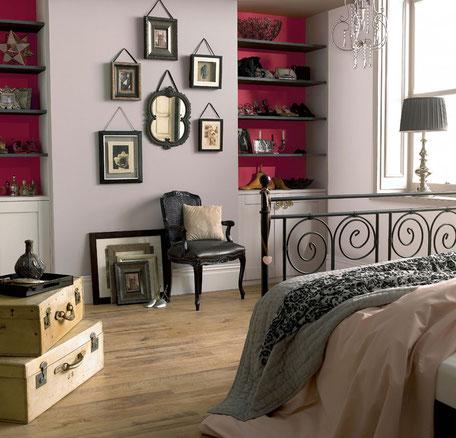 Color fuerte contra suave, el contraste en la decoración del hogar