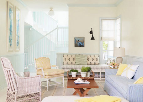 Colores pastel para decorar tu hogar
