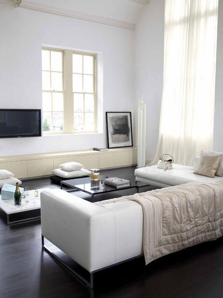 Colores blanco para decorar tu hogar