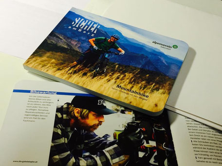 Booklet österreichischer Alpenverein - Schulung bei den Gabelstaplern