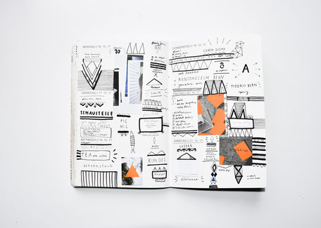 This is my weekly PLANNER scan WEEK 42// 2017. Trough planning, sketching and living new designs and inspirations arise weekly in my inhouse designed PLANNER which I use as a sketchbook, moodboard and notebook.