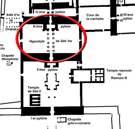 Karnak - Salle hypostyle