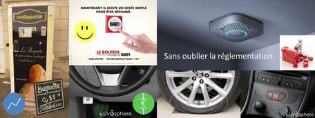 mabaguette.com darty, le bouton, récuction de consommation d'essence, gestion d'énergie transformation digitale leviers IOT détecteurs de fumée capteur de pression pneus