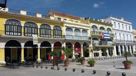 Plaza Vieja, Havanna, Cuba
