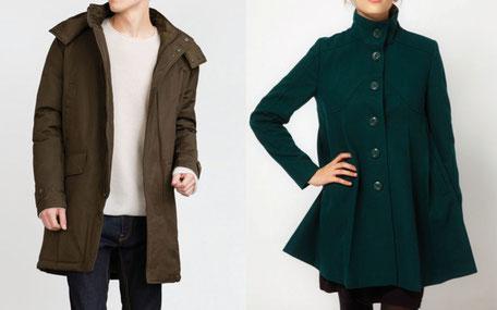 manteau petit rond