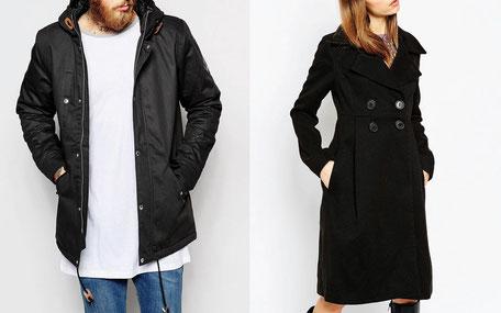manteau pour grand et gros